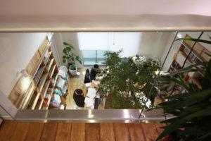 緑を囲む京都のオフィス「山本合同事務所」‐8‐1年点検