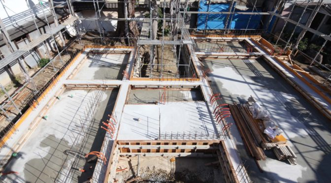 住み継ぐ「コンクリート打放し H型プランの平屋」‐5‐プランを上から眺めてみよう