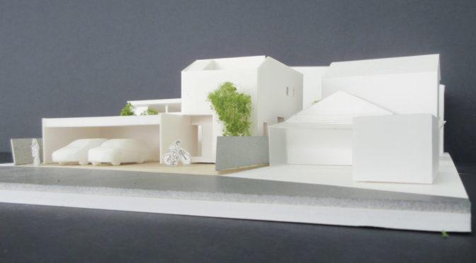 3台駐車可「3つの庭を持つコートハウス」‐1‐プロローグ