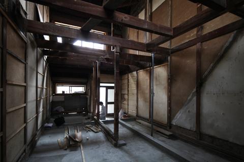 築80年の長屋を「碧の家 」に〈リノベーション〉‐2‐100年を紡ぐ物語り