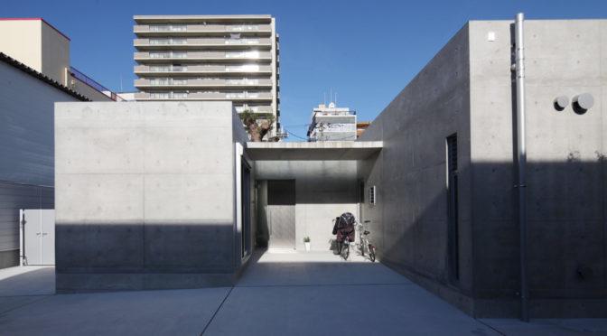 住み継ぐ「コンクリート打放し H型プランの平屋」‐13‐家具と奏でるシンフォニー