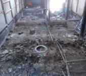 床下に埋められた火鉢