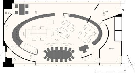 平面図 オフィス